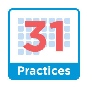 31 Practices for Organisations