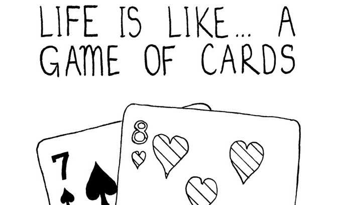 Life is a Game of Cards, by Ed Mayo