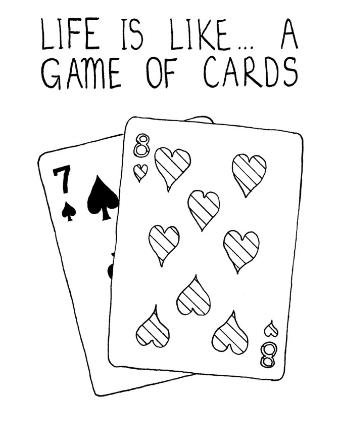 Life Is A Game Of Cards World Values Day Blog From Cooperatives Uk